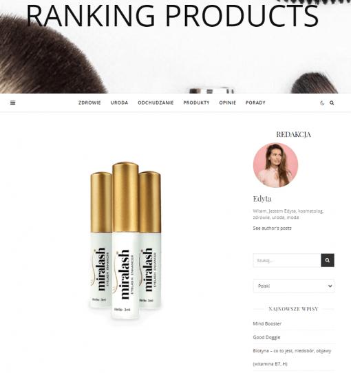 publikacja artykułu rankingproducts