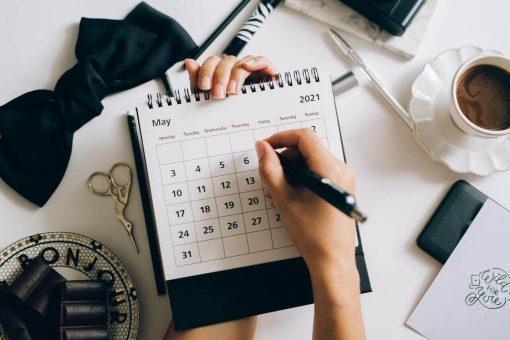 kalendarz planer 2021